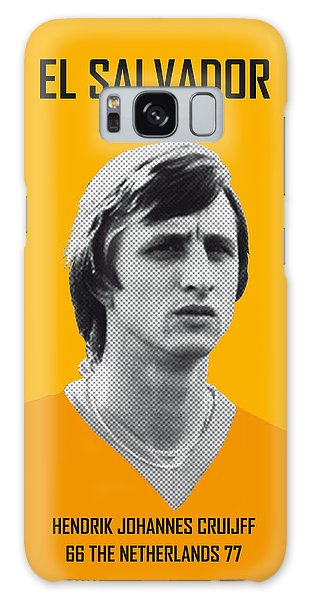 Record Galaxy Case - My Cruijff Soccer Legend Poster by Chungkong Art
