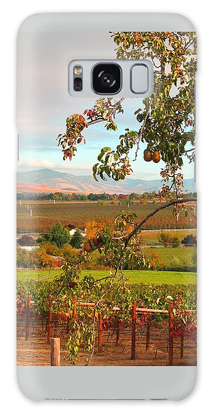 My Favorite Valley View - Autumn In Southern Oregon Galaxy Case