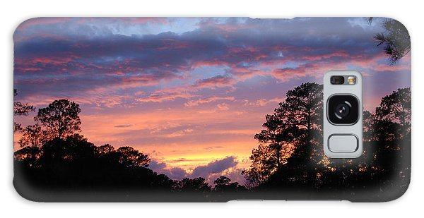 My Front Porch View Galaxy Case by Max Mullins