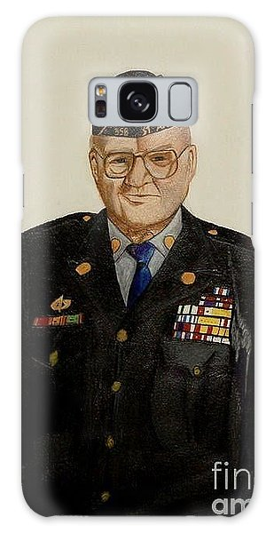 My Grandfather Galen Kittleson Galaxy Case