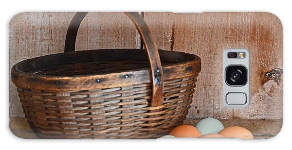 My Grandma's Egg Basket Galaxy Case