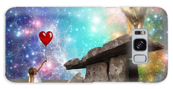 My Heart Belongs To You Galaxy Case