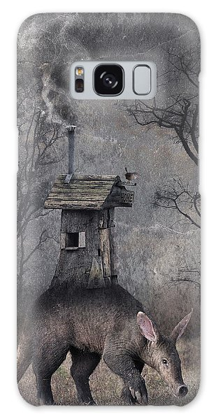 Shed Galaxy Case - My Hut On The Back by Muriel Vekemans