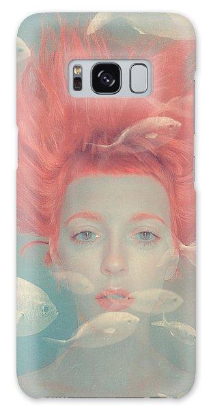 Surrealism Galaxy S8 Case - My Imaginary Fishes by Anka Zhuravleva