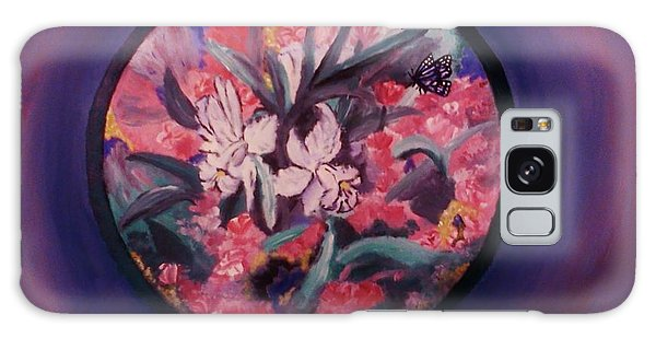 My Lilies Galaxy Case by Christy Saunders Church