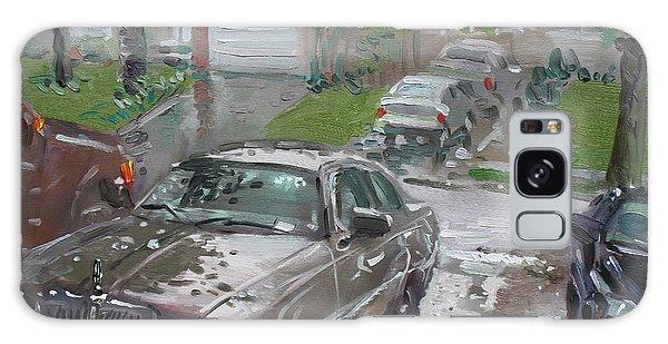 Town Galaxy Case - My Lincoln In The Rain by Ylli Haruni
