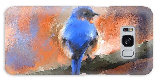 My Little Bluebird Galaxy Case