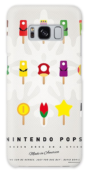 Mushroom Galaxy S8 Case - My Mario Ice Pop - Univers by Chungkong Art