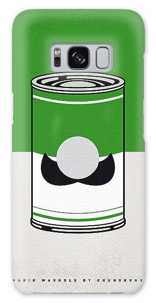 Mushroom Galaxy Case - My Mario Warhols Minimal Can Poster-luigi by Chungkong Art