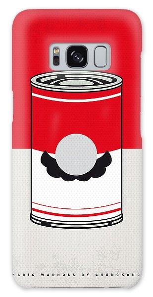 Mushroom Galaxy Case - My Mario Warhols Minimal Can Poster-mario by Chungkong Art