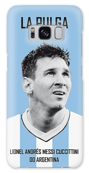 My Messi Soccer Legend Poster Galaxy Case