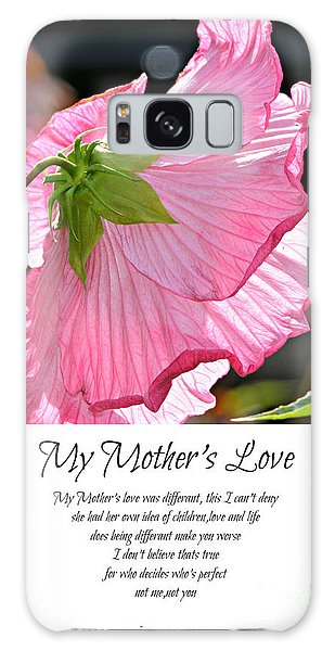 My Mother's Love Galaxy Case by Lila Fisher-Wenzel