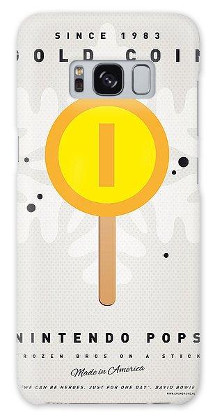 Mushroom Galaxy Case - My Nintendo Ice Pop - Gold Coin by Chungkong Art