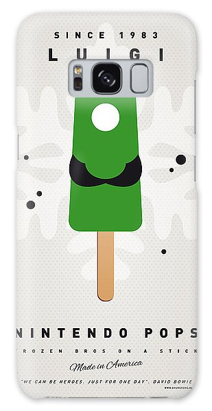 Mushroom Galaxy S8 Case - My Nintendo Ice Pop - Luigi by Chungkong Art
