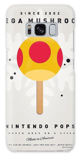 Donkey Galaxy Case - My Nintendo Ice Pop - Mega Mushroom by Chungkong Art