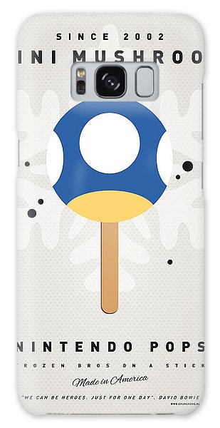 Mushroom Galaxy S8 Case - My Nintendo Ice Pop - Mini Mushroom by Chungkong Art