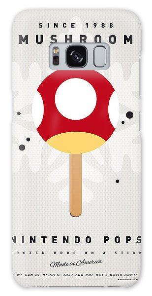 Donkey Galaxy Case - My Nintendo Ice Pop - Mushroom by Chungkong Art