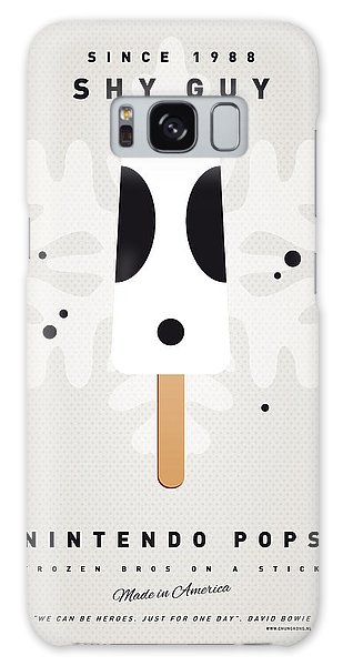 Mushroom Galaxy S8 Case - My Nintendo Ice Pop - Shy Guy by Chungkong Art