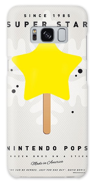 Mushroom Galaxy S8 Case - My Nintendo Ice Pop - Super Star by Chungkong Art