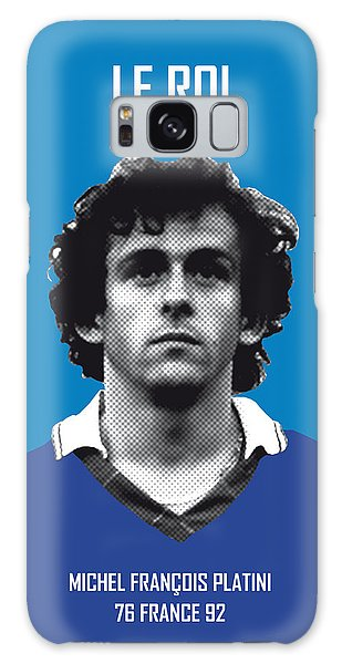 My Platini Soccer Legend Poster Galaxy Case by Chungkong Art