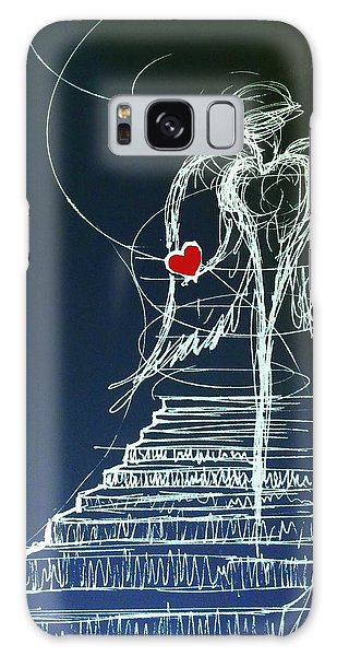 My Soul Awaits With Love At Hand Galaxy Case
