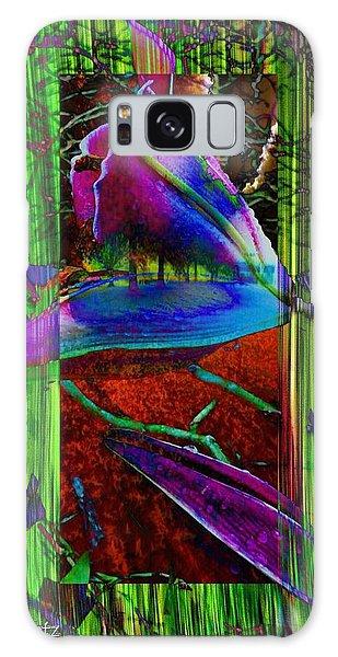 My Spring Garden Galaxy Case