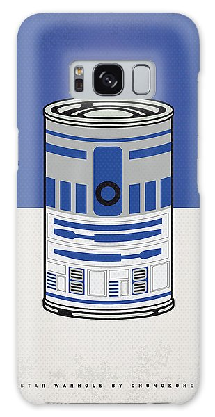 My Star Warhols R2d2 Minimal Can Poster Galaxy Case by Chungkong Art