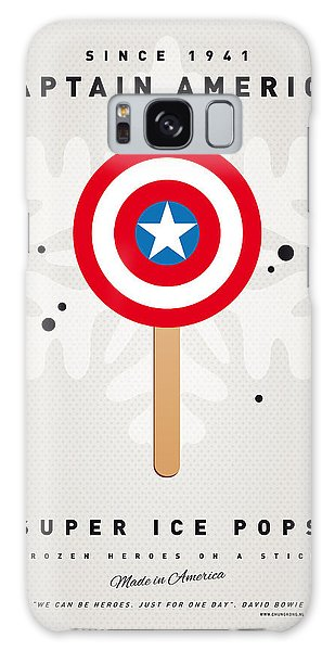 My Superhero Ice Pop - Captain America Galaxy Case