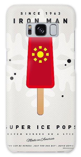 Superhero Galaxy Case - My Superhero Ice Pop - Iron Man by Chungkong Art