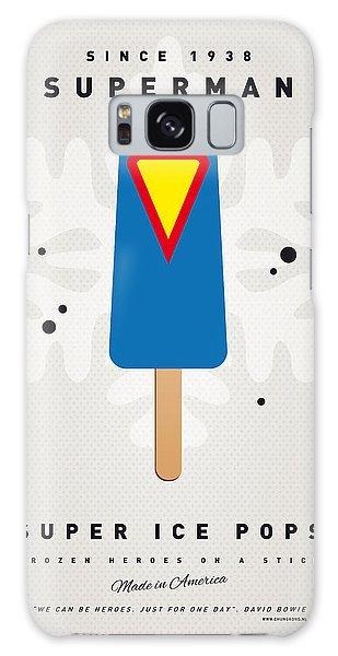 Superhero Galaxy Case - My Superhero Ice Pop - Superman by Chungkong Art