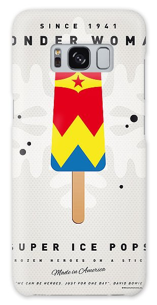 My Superhero Ice Pop - Wonder Woman Galaxy Case