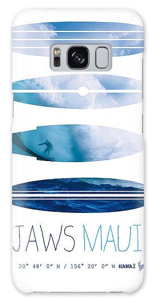 Layers Galaxy Case - My Surfspots Poster-1-jaws-maui by Chungkong Art
