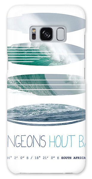 Bull Art Galaxy Case - My Surfspots Poster-4-dungeons-cape-town-south-africa by Chungkong Art