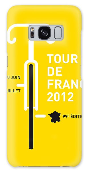 My Tour De France 2012 Minimal Poster Galaxy Case by Chungkong Art
