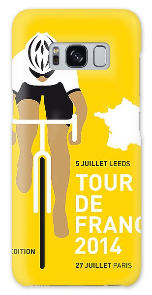 My Tour De France Minimal Poster 2014 Galaxy Case by Chungkong Art