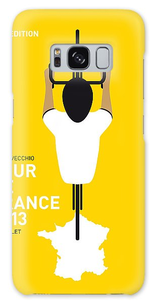 My Tour De France Minimal Poster Galaxy Case by Chungkong Art