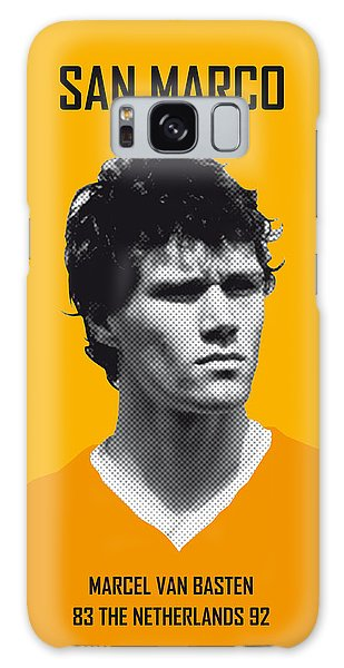 My Van Basten Soccer Legend Poster Galaxy Case by Chungkong Art