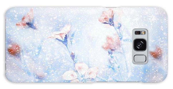 Soft Galaxy Case - My Winter Garden by Delphine Devos