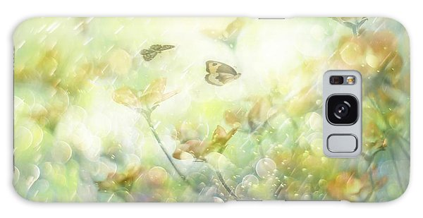 Soft Galaxy Case - My Wonderful World by Delphine Devos