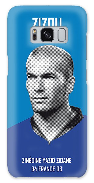My Zidane Soccer Legend Poster Galaxy Case