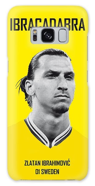My Zlatan Soccer Legend Poster Galaxy Case
