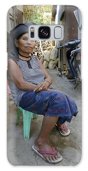 Myanmar Portrait Galaxy Case