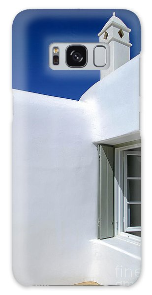 Mykonos Abode Galaxy Case