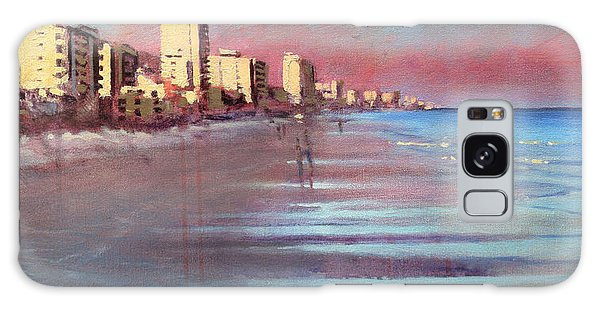 Myrtle Beach Evening Galaxy Case