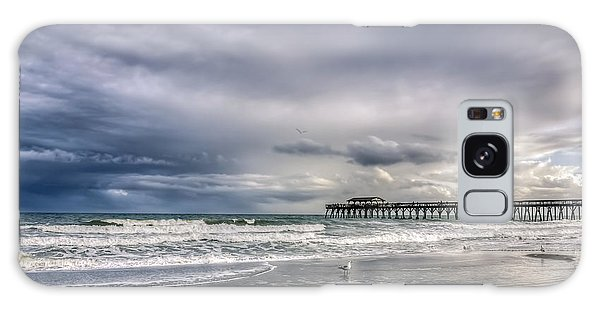 Myrtle Beach Fishing Pier Galaxy Case by Rob Sellers