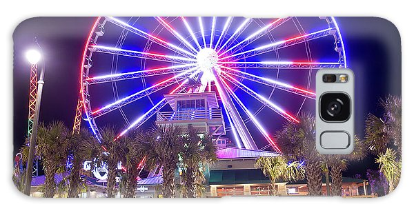 Myrtle Beach Sky Wheel Galaxy Case