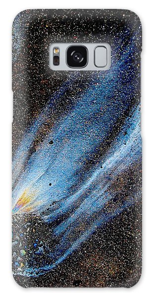 Mysterious Traveler Galaxy Case
