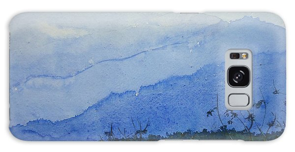 Mystic Blue Galaxy Case