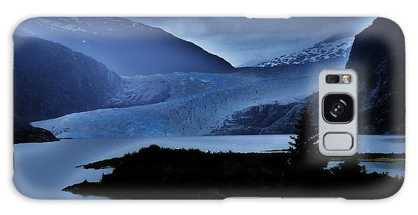 Mystic Glacier Galaxy Case