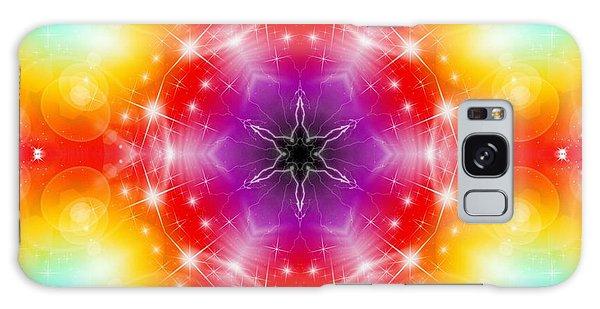 Galaxy Case featuring the digital art Mystic Karma by Derek Gedney